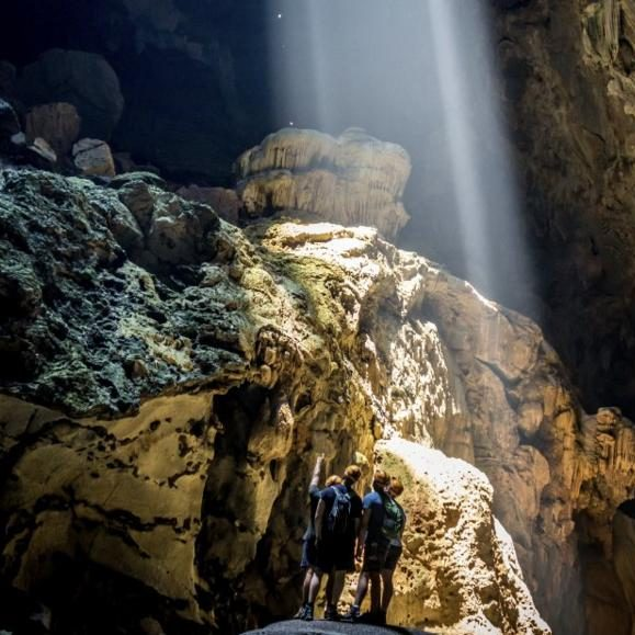 Paradise Cave, adventure trekking