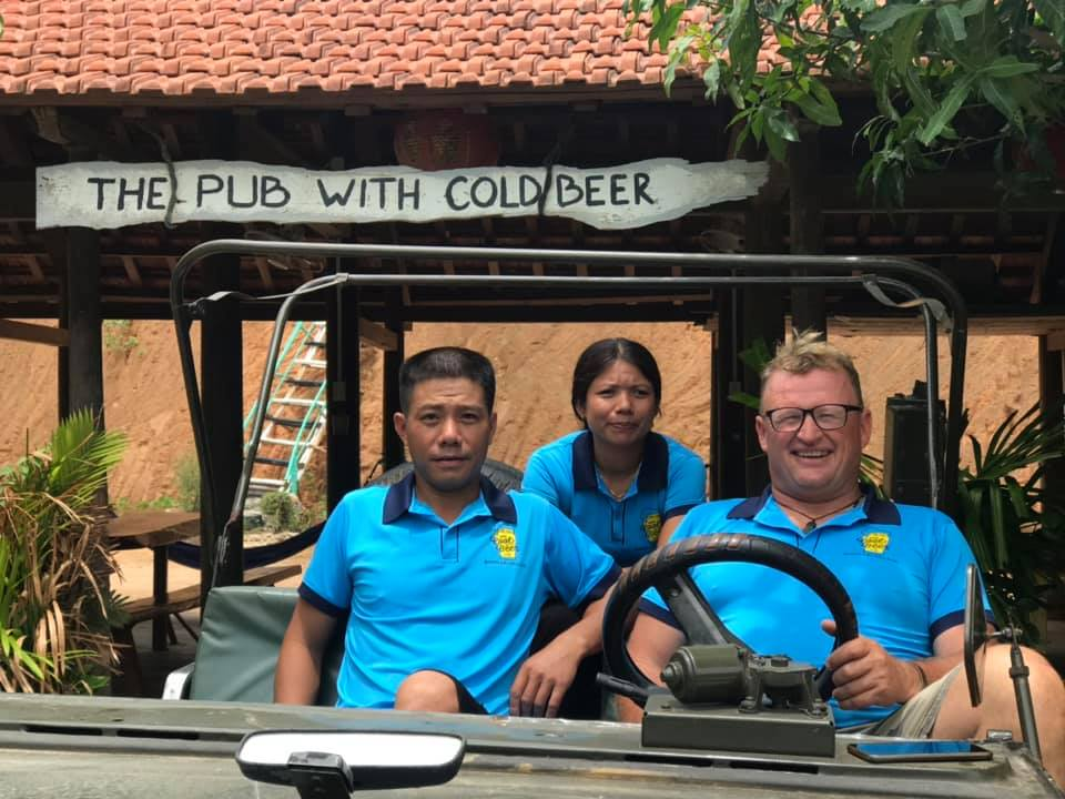 Pub with cold beer, Phong Nha, Vietnam